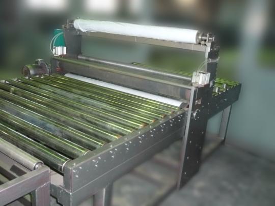 Линия для каширования металла защитной пленкой